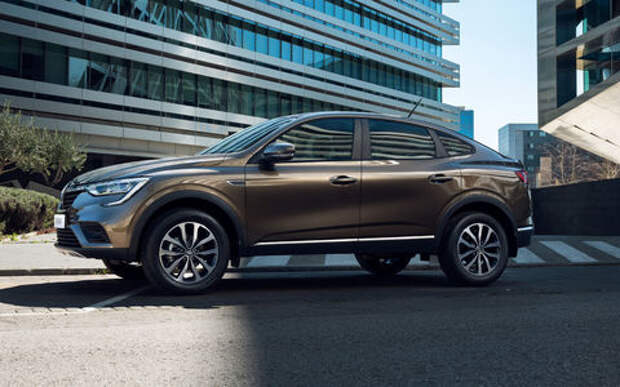 Новая версия Renault Arkana в продаже - в необычном цвете