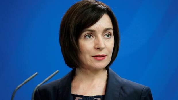 Санду рассказала о своём отношении к Приднестровью