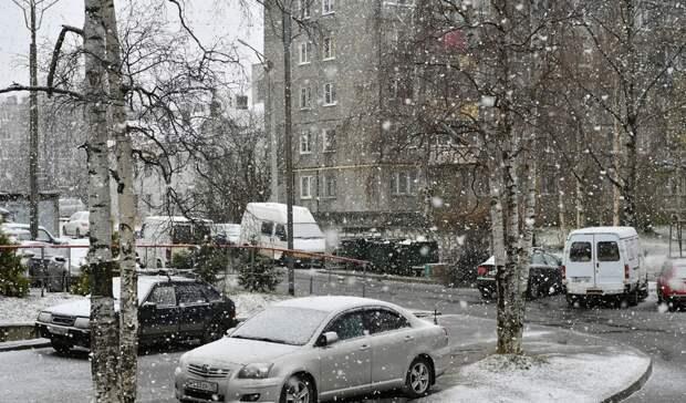Снежный апокалипсис обрушился наПетрозаводск