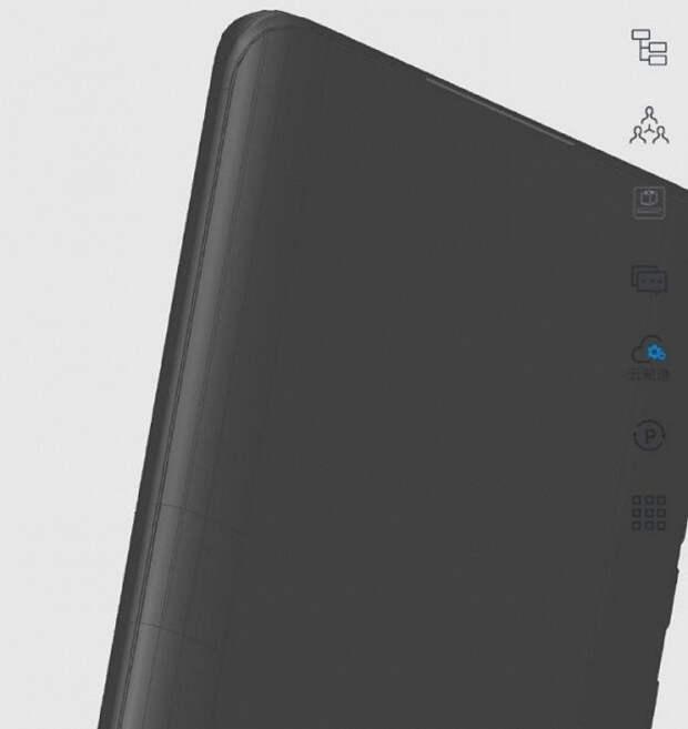 Huawei P50 Pro сохранил изогнутый экран. Смартфон показали на изображении 3D-модели