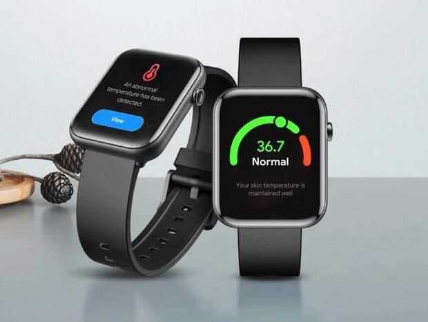 Смарт-часы TicWatch GTH c датчиком измерения температуры тела уже можно купить на AliExpress