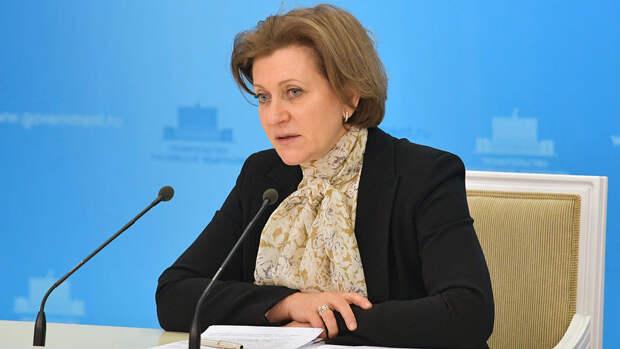 Попова рассказала, что основной задачей сейчас является пандемия без локдауна