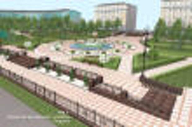 В этом году в Кировске будет завершена реконструкция центральной площади