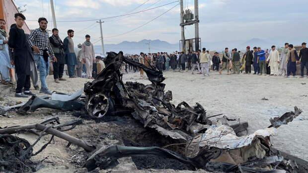 Число жертв взрывов около школы в Кабуле превысило 50