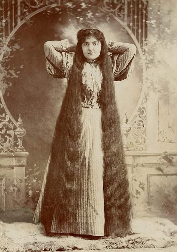 Rapunzels13 История красоты — известные «рапунцели» XIX века