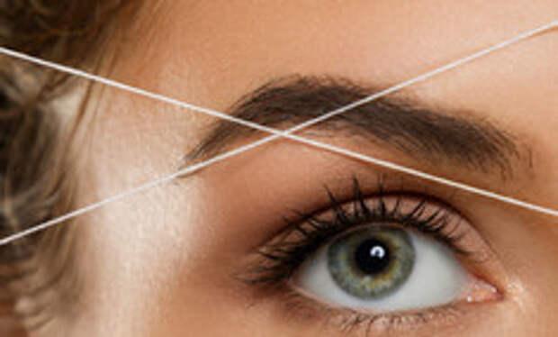 Удаляем лишние волоски с помощью нити