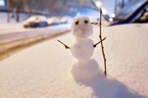 Первый снег в Центральной России ждут уже на следующей неделе