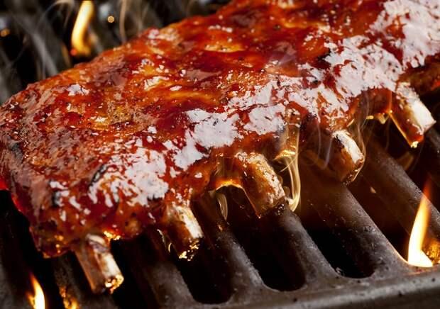 Свиные ребрышки на барбекю по Гордону Рамзи