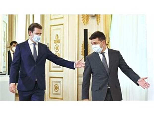 Тайные встречи и перенос переговоров по Донбассу. Зачем Зеленский летал в Австрию