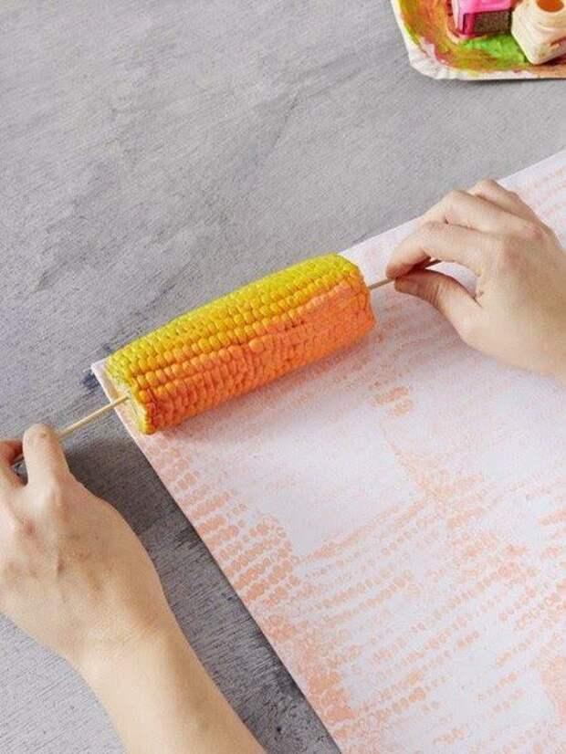 как сделать печатный рисунок на ткани