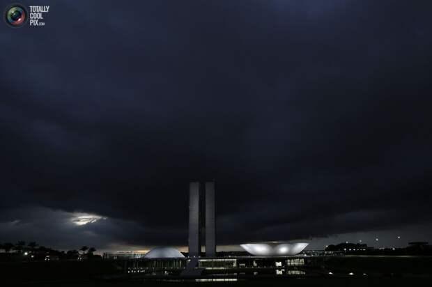 Здание Национального конгресса Бразилии