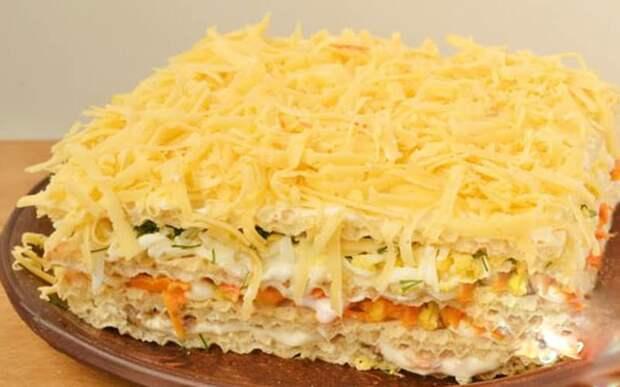 Селёдочный торт