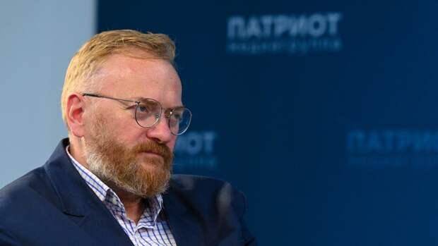 Депутат Милонов раскритиковал поведение либеральной тусовки на примере Вишневского