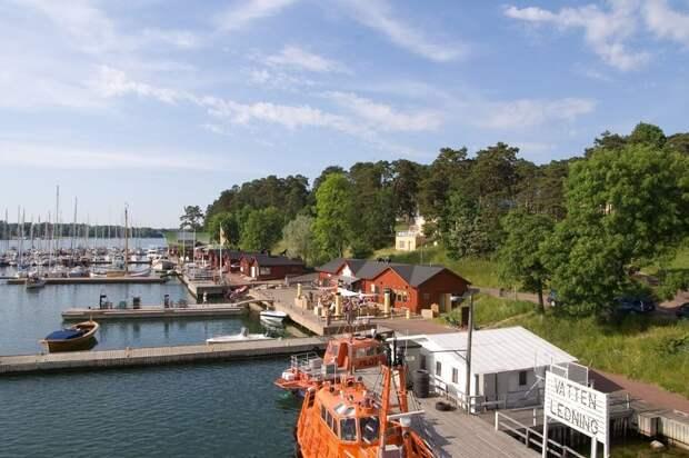 Мариехамн: финский город, основанный русскими, в котором живут только шведы