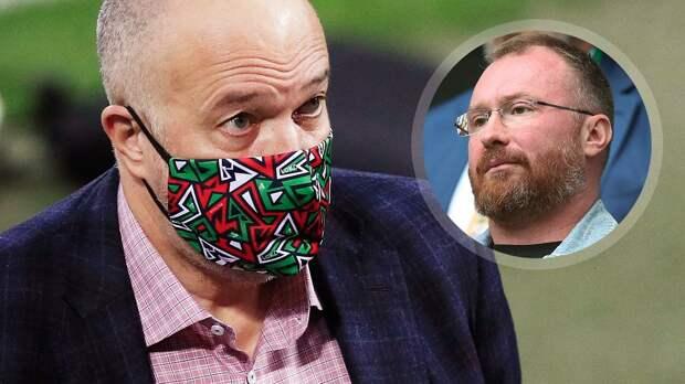 Депутат Лебедев: «Страшно за «Локомотив» перед ЛЧ. Кикнадзе полностью провалил трансферную политику»