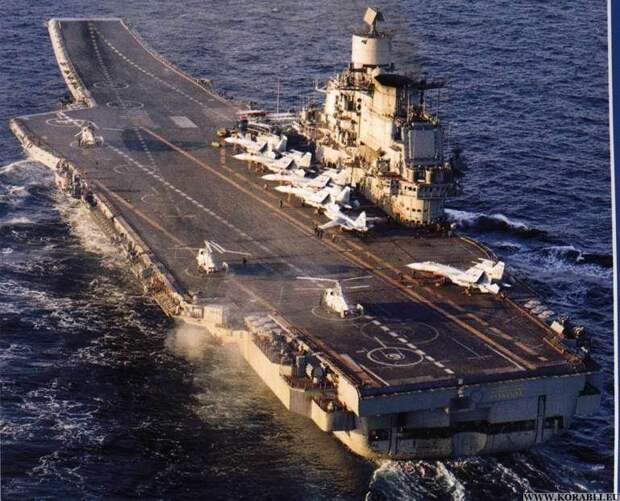 Крейсер «Адмирал Кузнецов» отправится в Средиземное море: Россия покажет свои намерения в Сирии