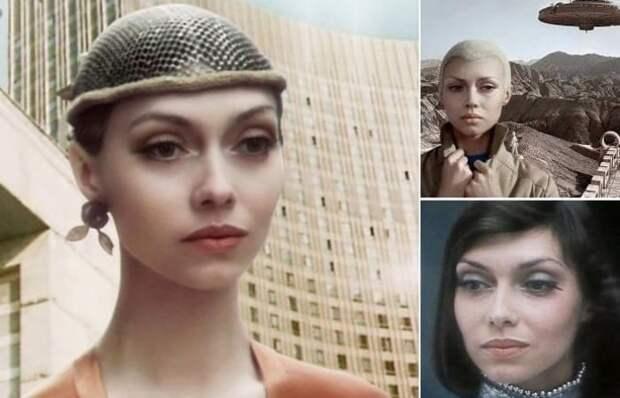 А вы помните «советскую инопланетянку» 80-х?