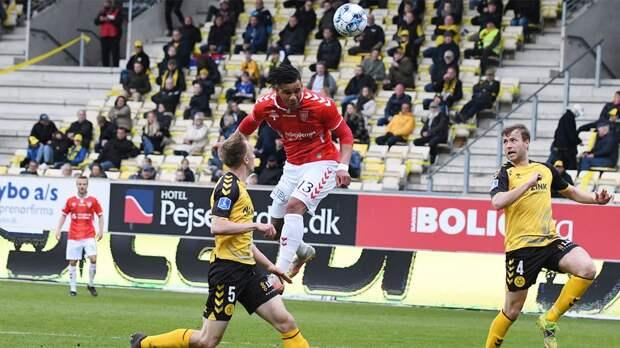 Российский футболист оформил хет-трик в чемпионате Дании