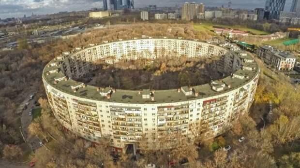 И такие дома строили в СССР