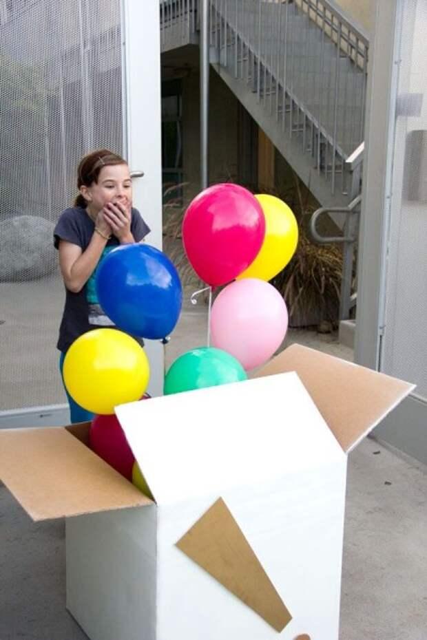 Что можно сделать с воздушными шарами