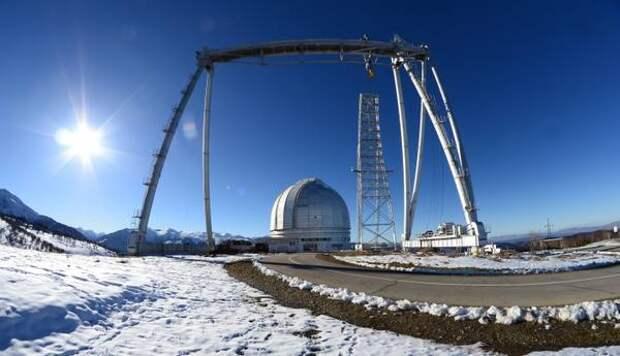 В обсерватории РАН в Карачаево-Черкесии открылась выставка, посвященная крупнейшему в мире радиотелескопу