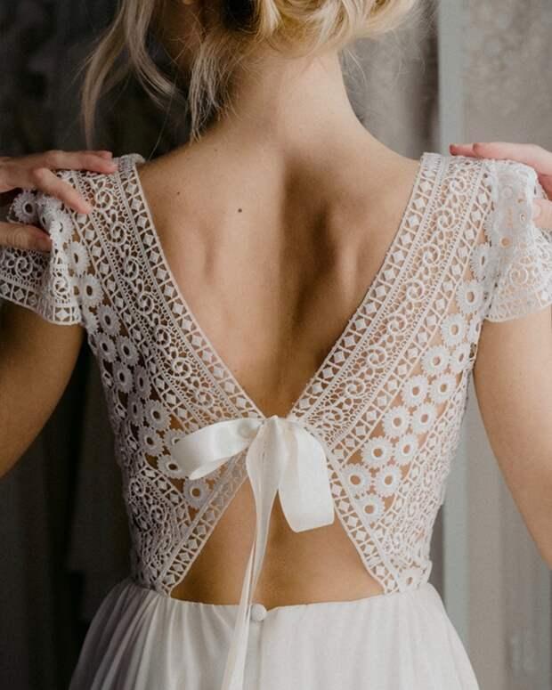 Идеи изумительных спинок для платьев 4