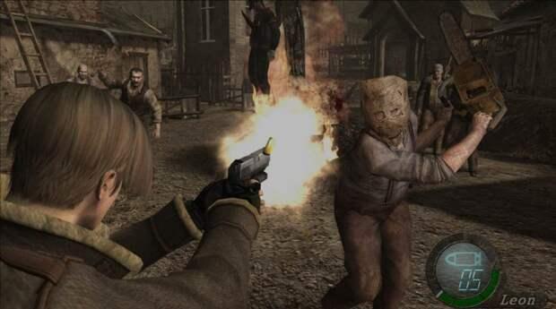 Человек с бензопилой – Resident Evil 4