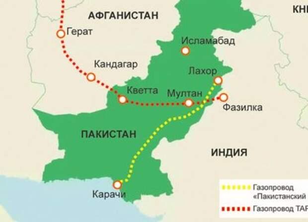 """Переиграть Пекин и Вашингтон: """"Пакистанский поток"""" строится без Китая"""