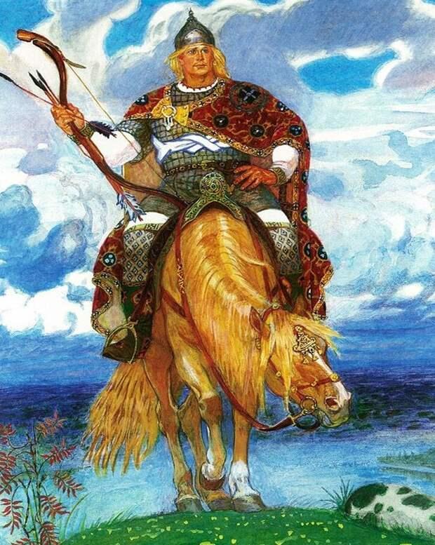 Не Алёша я вам. А Саша, «Александр Попович», хотя тоже какого веку — не помню) (Иллюстрация из открытых источников)