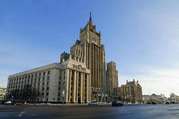МИД РФ раскритиковал заявления Минска о задержанных россиянах