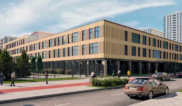 В Москворечье-Сабурове построят школу на 900 мест