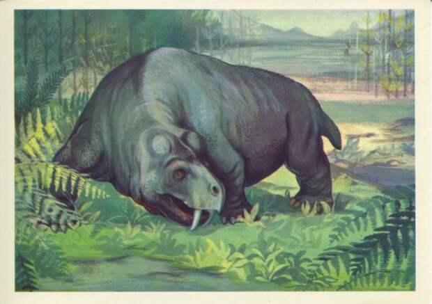 Сответские открытки. (12 Часть). Динозавры (32 открыток)