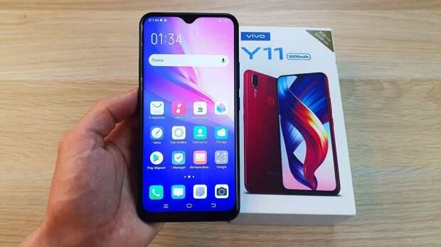 Обзор смартфона Vivo Y11 за 10 000 рублей !