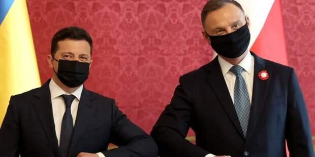 Визит Зеленского в Польшу затевался исключительно ради пресс-конференции с Дудой – политолог