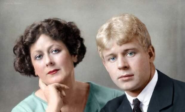 Цветные портреты известных личностей (60 фото)