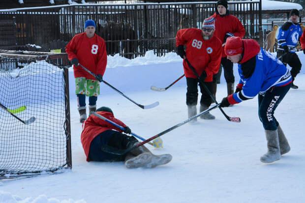 Чемпионат по хоккею на валенках пройдет в Ижевске среди дошкольников, школьников и взрослых команд
