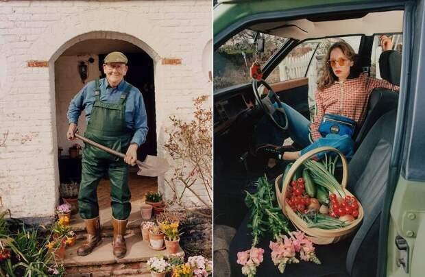 Британский пенсионер стал лицом рекламы Gucci благодаря любви к гигантским овощам