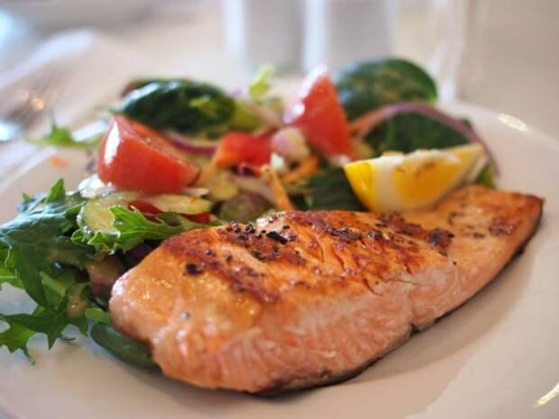 рыба с овощем