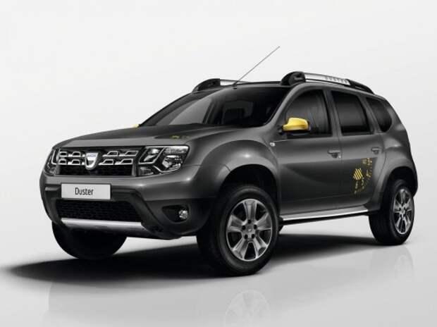 Renault везет в Париж особые Duster и Sandero