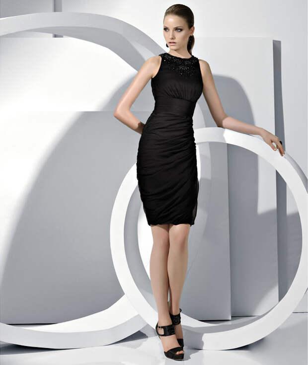 NewPix.ru - Уникальность – первый шаг на пути к стилю. Модные короткие черные платья