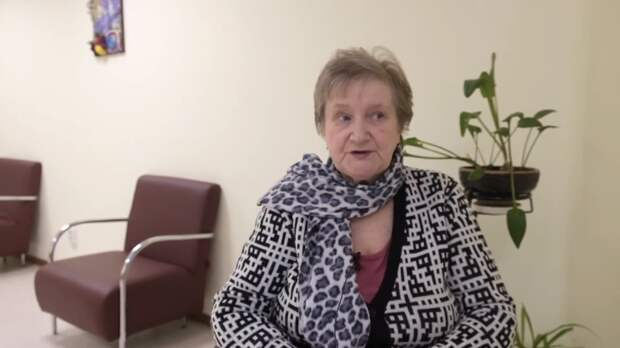 Валентина Александровна, пришла неходячей и встала на ноги