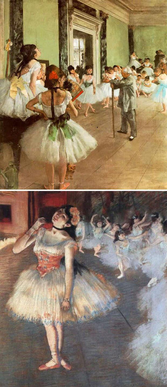8. Если вы видите балерину, это Дега.