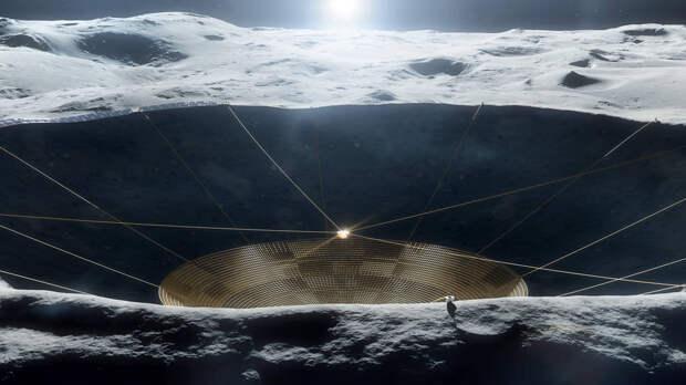 NASA одобрило продолжение работ по лунному радиотелескопу