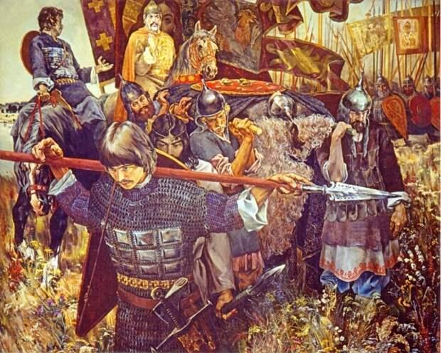 Известия немецких хронистов о битве русских с ордынцами в 1380 г.