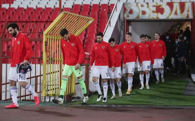 Сборная России завершила год на 39-м месте в рейтинге ФИФА