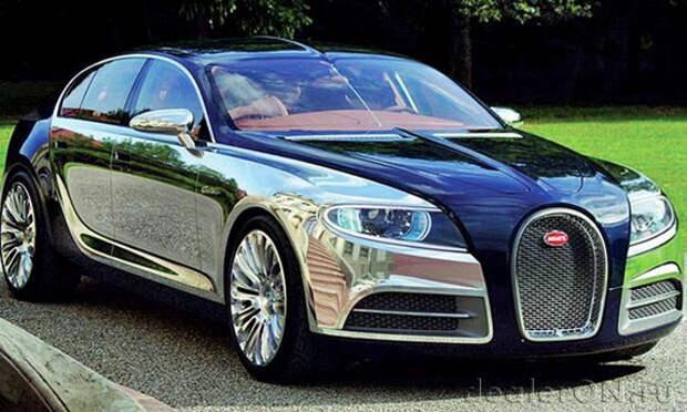 Новый исполнительный директор может возродить проект Bugatti Galibier