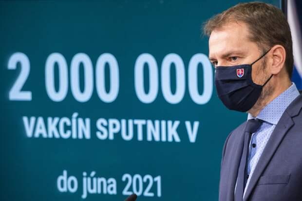В Словакии вызвали опасения «истинные» цели Братиславы на «Спутник V»