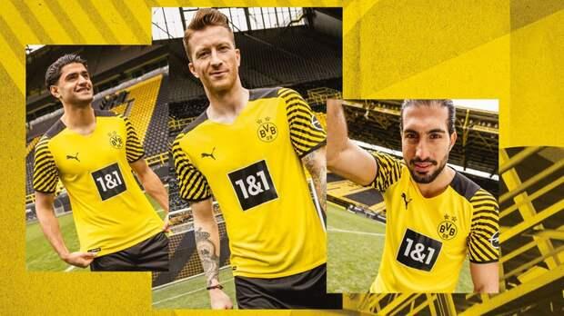 Дортмундская «Боруссия» представила домашнюю форму на новый сезон