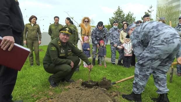 Росгвардия провела памятные мероприятия ко Дню Победы в Москве