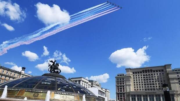 Репетиция парада Победы в Москве впечатлила жителей Болгарии